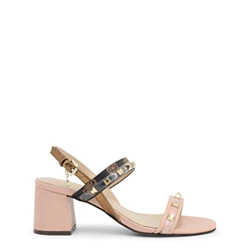 Guess FL6CTRFAL03 - Sandalias de piel para mujer Rosa Size: 37 EU (Ropa)