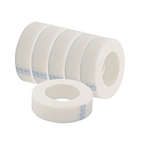 Frcolor 6 Rollen Micropore Tape Wimpern Tape Weiß