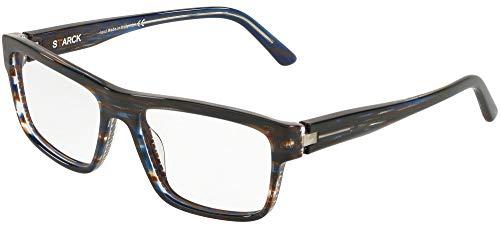 Brillen Gafas de Vista Starck Eyes 0SH3050 STRIPED BLUE 55/17/145 Herren