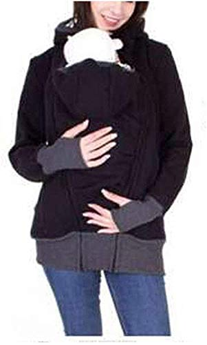 Kangaroo Mother Umstands Hoodies-Mantel - Babywearing Jacke For Mama Und Baby Fleece Kangaroo Softshell-Jacke Mit Kapuze For Schwangere Frauen Frauen Langarm Warmen Pullover ( Farbe : C , Size : XL )