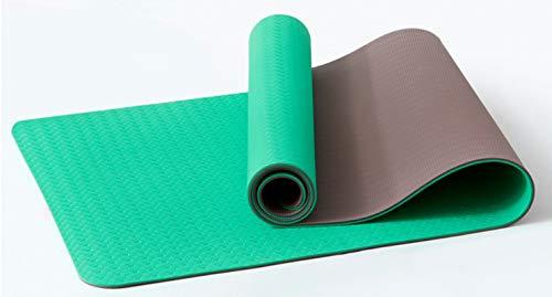 Esterillas De Yoga Para Principiantes, Hombres Y Mujeres, Deportes, Danza, Fitness, Mantas, Yoga, Suministros Para Exteriores Jade verde