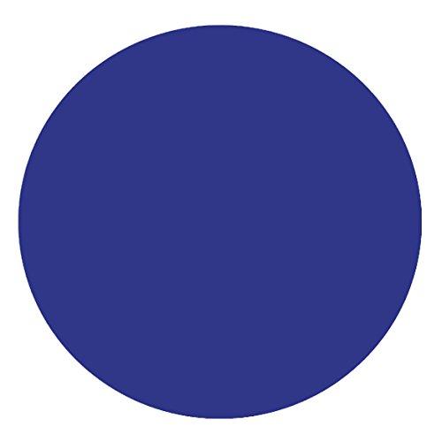 DecoHomeTextil Lacktischdecke Tischdecke Wachstuch Rund Oval Größe & Farbe wählbar Rund 100 cm Dunkelblau Wachstischdecke Wachstuchtischdecke Gartentischdecke Lebensmittelecht