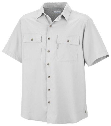 Columbia Utilizer II Chemise à Manches Courtes pour Homme Blanc Blanc S