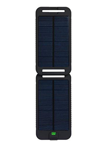 Powertraveller Tragbares Ladegerät Solarmonkey Adventurer 3500mAh, Schwarz