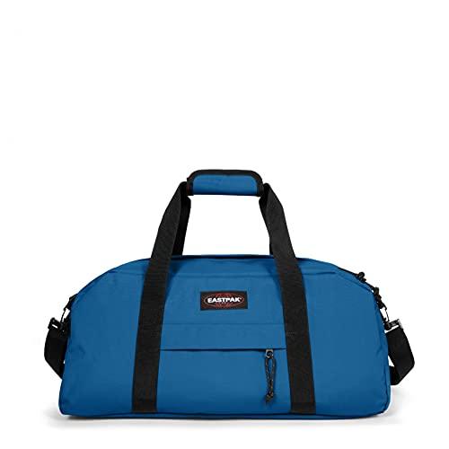 Eastpak Stand+ Bolse de Viaje, 25 cm, 34 L, Azul (Mysty Blue)