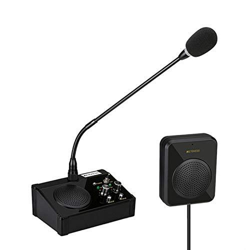 Retekess TW106 Altavoz de Ventana, Sistema de Intercomunicación de Mostrador, Intercomunicador de...