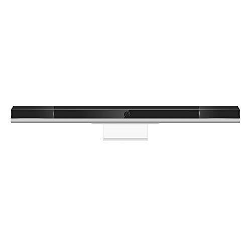 NIFERY Wii Sensor Bar Wireless, WiiU Infrared Ray Motion Sensor Bar for Wii/Wiiu Console/PC (White)