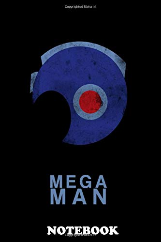 Notebook: Minimal Megaman , Journal for Writing, College Ruled Size 6