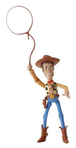 Mattel Y7506 - Toy Story Sceriffo Woody Lancio del Lazo