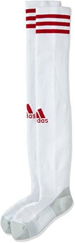 adidas Herren Adi Sock 18 Fußballsocken, White/Power Red, EU 46-48