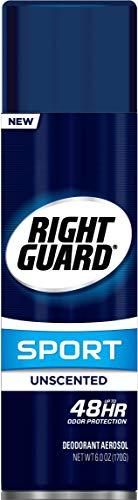 Right Guard Sport Anti-Perspirant Deodorant Spray Unscented 6 oz