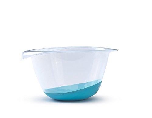 Whitefurze Saladier Haute qualité, Bleu Sarcelle, 3,5 litres