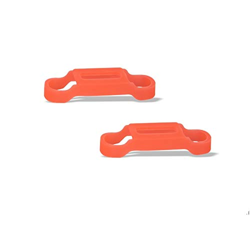 CHENJUAN Propeller en motor Vaste clip beschermhoes siliconen Anti-collision for dji mavic mini drone Accessoires reserveonderdelen (Color : Orange)