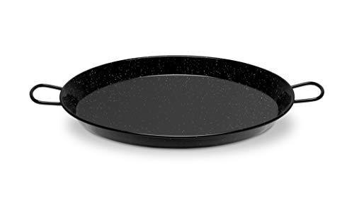 Boladeta - Paellera de Inducción y Vitrocerámica de Acero esmaltado de 30cm - 2 o 3 raciones