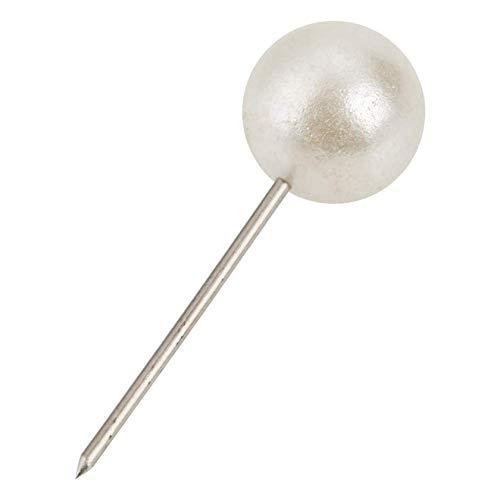 Betaling Pushpin Thumbtack Pins Decoratieve DIY Tool Kaart Tacks Markering Push Pins 200 stks Ronde Bal Kunststof (goud)
