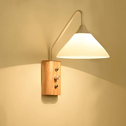 Lamp wandlamp creatieve houten kunst studie LED wandlamp Chinese moderne LED wandlamp binnen restaurant LED wandlamp