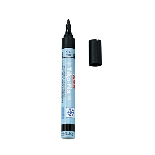 Herlitz 8666505 Folienschreiber Tiko-Fix 1-4 mm, schwarz