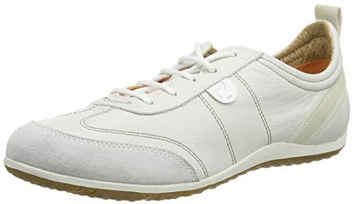 Geox Damen D Vega a Sneakers, Weiß (White/Off WHITEC1352), 41 EU