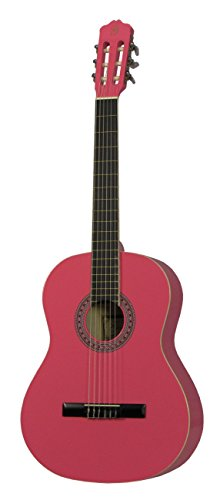 Gómez 001 PK 4/4 Guitarra clásica tamaño completo - rosa