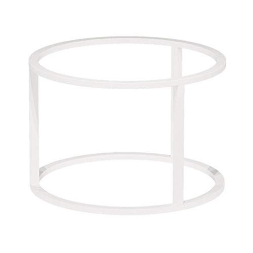 ZXL meubelsteunvoet, tafelpot, stalen buis, ronde sofa-combinatie, salontafel, rek, smeedijzer, tafelpoot, houder eenvoudig marmer, kleine zijde