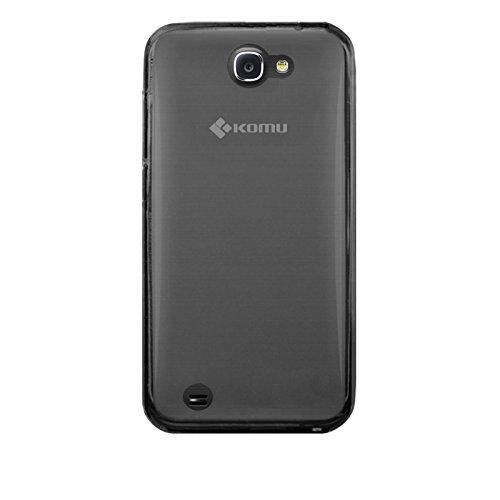 Cover custodia per Smartphone Komu Robo 2L e Robo 2X in silicone morbido nero