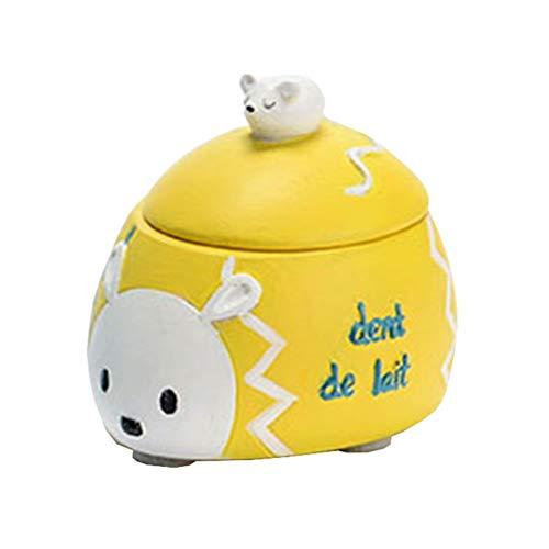 THE WORLD OF ANIMALS Petite boîte pour dents de bébé - Hérisson