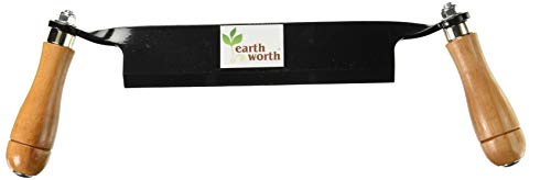 1946 Earth Worth | Straight Draw Shave Tool | 8 Inch | Black,83-DT5223