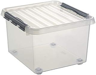 Sunware Q-Line Boîte de Rangement à roulettes Taille Unique