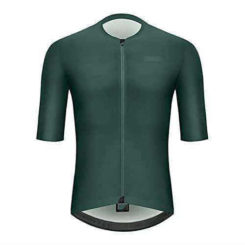 Abbigliamento ciclismo uomo estate manica corta mountain bike maglia triathlon top sport all'aperto, Uomo, 11, XXS