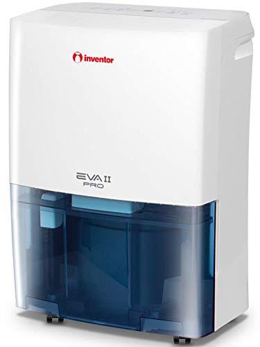 Inventor Eva II PRO (20L/24h) con R290, Deumidificatore Portatile, Asciugabiancheria, con Timer, modalità di deumidificazione Continua - Smart - Silent e 2 Anni di Garanzia