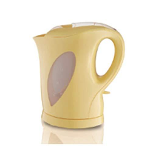 L-YIN Hervidor eléctrico, Calderas Plástico de Calidad alimentaria Pequeños Electrodomésticos Gran Capacidad 1.5L Protección contraADing Calentamiento Rápido (Color : Yellow, Size : 110-130V)