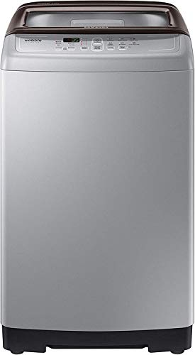 Samsung 6 kg Fully-Automatic Top Loading Washing Machine (WA60M4300HD/TL, Imperial Silver, Wobble Technology)