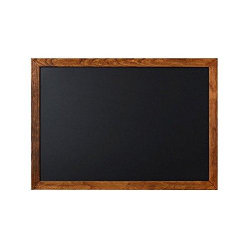 Kreidetafel A2 braun 60 x 42 cm mit Rahmen aus Holz