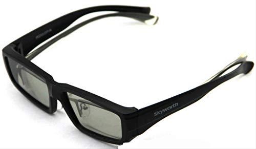 3D Brille Non-Flashing 3D TV Brille Rund Polarisation
