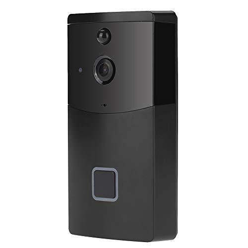 Draadloze videocamera Draadloze deurbel WiFi Nachtzicht Deurbelkit Camera Telefoon Ring Intercom Bewegingsdetector, Beveiliging thuiskantoor, Beveiliging van huis