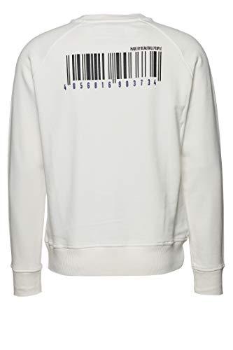 Drykorn Herren Sweatshirt Florenz Code Weiß XXL