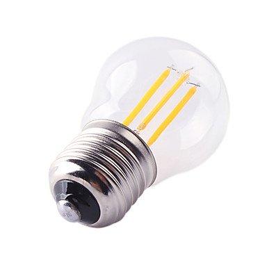 HZZymj-4W E27 Ampoules à Filament LED G45 4 COB 360 lm Blanc Chaud Blanc Froid Gradable Décorative AC 100-240 V 1 pièce