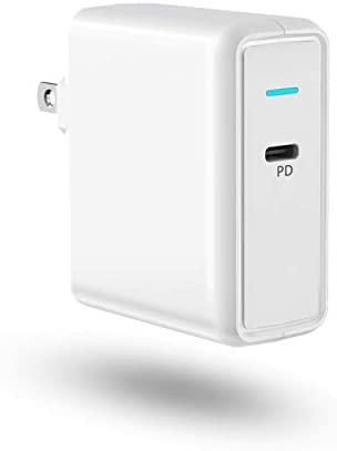 Aiibe USB C Charger Power Adapter 61W Type C Wall Charger Power Delivery 3 0 Fast Charging Block product image