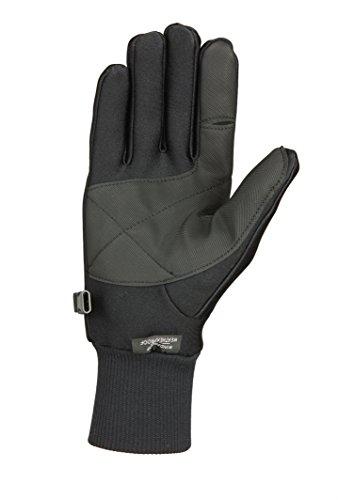 Seirus Innovation 1425 Men's Original All-Weather Lighweight Form Fit - Winter Cold Weather Glove,Black,Large