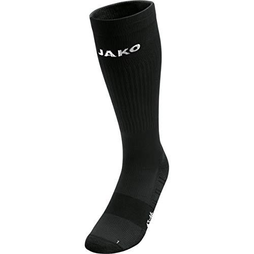 JAKO Herren Socken Kompressionsstrumpf, schwarz, 4, 3910