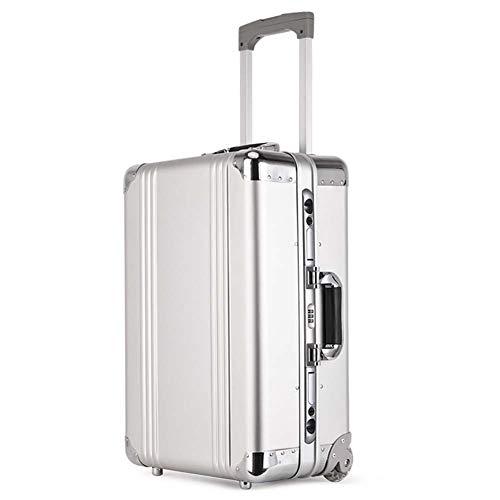 IFor 20 inch 100% Alle aluminium spinner reizen merk koffer handbagage trolley met wiel