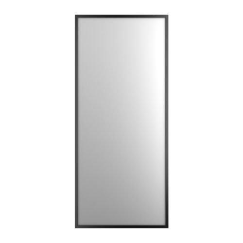 IKEA(イケア) STAVE ブラックブラウン 70x160 cm 70172776 ミラー、ブラックブラウン