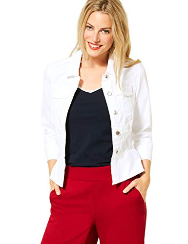 Street One Damen 211180 Jacke, White, 42
