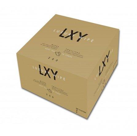 Toallita de Té Verde de Tejido Luxury Wipe (Caja 200 Toallitas)