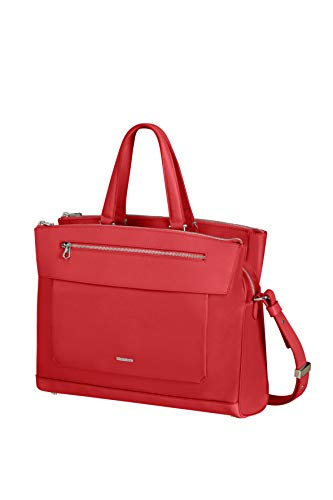 Samsonite Zalia 2.0 - 14 Pollici Cartella Porta PC, 39 cm, 14 L, Rosso (Classic Red)