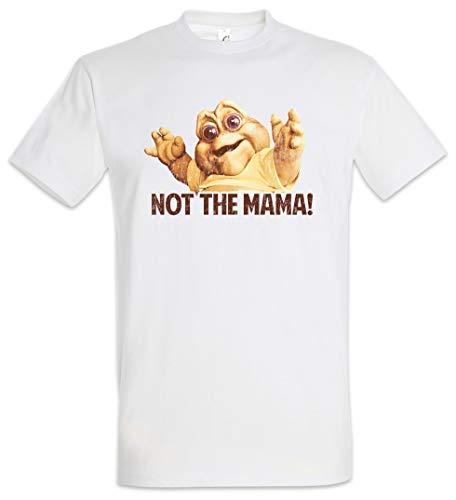 Urban Backwoods Not The Mama! Herren T-Shirt Weiß Größe M