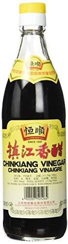 Henfschun Essig, schwarz, (Chinkiang), 4er Pack (4 x 550 ml)