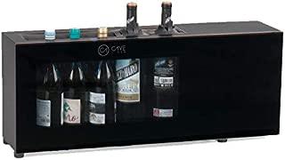 Cavevinum CV-7-C Expositor de Barra 6 Botellas con Compresor para V, Negro