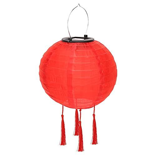 Wenyun Solarlaterne Rote LED Laterne...