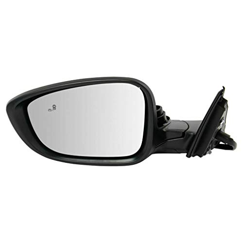 For Honda Accord Hybrid Mirror Assembly 2018 2019 Driver Side Power Heated Paint To Match 2.0 Turbo Engine w/Blind Spot Detection EX/Sport HO1320329 | 76258-TVA-A22 | 76251-TVA-A01ZJ